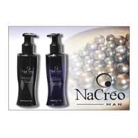 NACRÈO MAN - BLACK PEARL and SILVER GEL - PRECIOUS HAIR