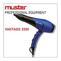 Suszarka do włosów VANTAGE 3300 - MUSTER