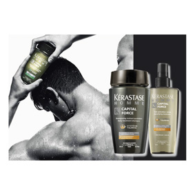 CAPITAL FORCE ANTI - FAT og fortetning - KERASTASE